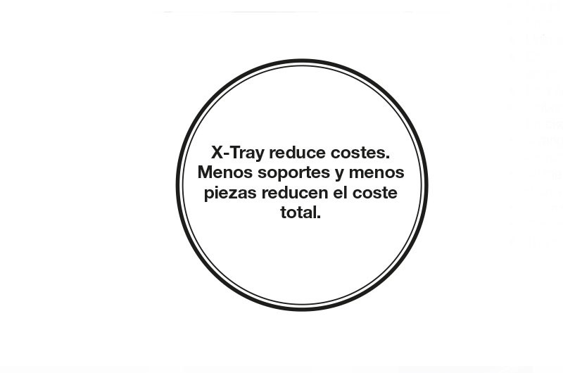 Axelent X Tray reduce costes