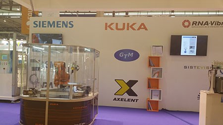 Axelent Spain Equiplast stand
