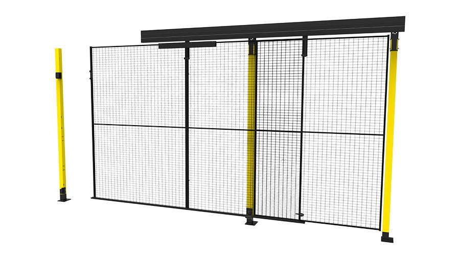 X Guard Single sliding door without rail