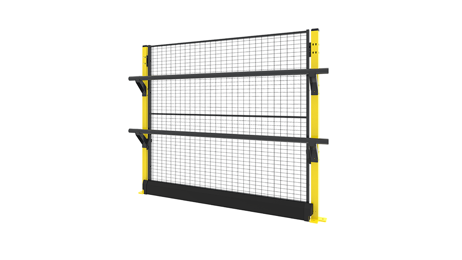 X-Rail 1400 mm with panel two rails